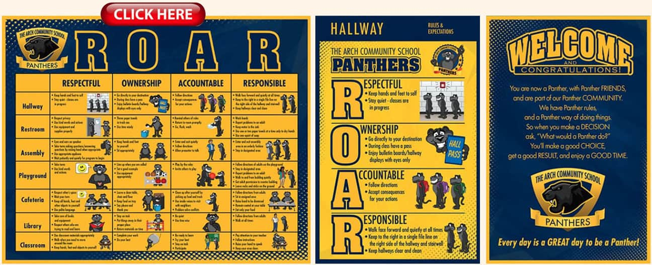 ROAR Panther Posters