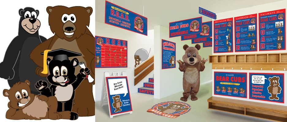 Bear Mascot Products
