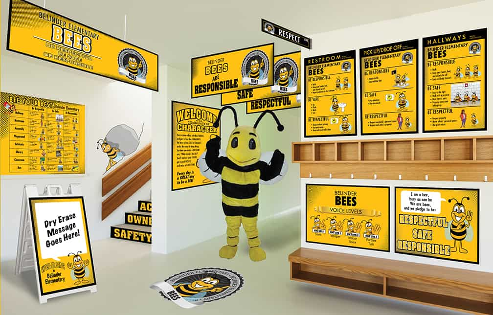 Bee Mascot Products