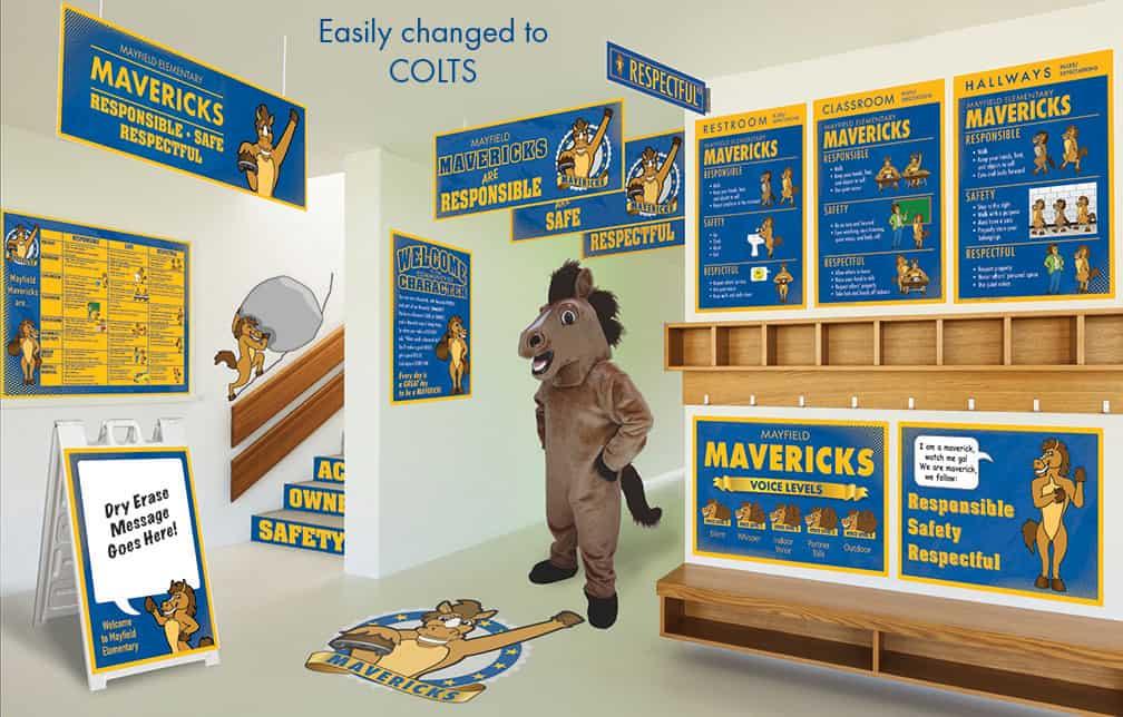 Colt Mascot Products