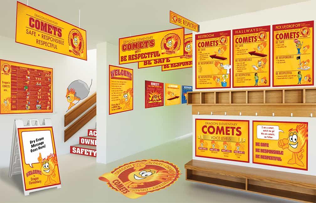 Comet Mascot Products