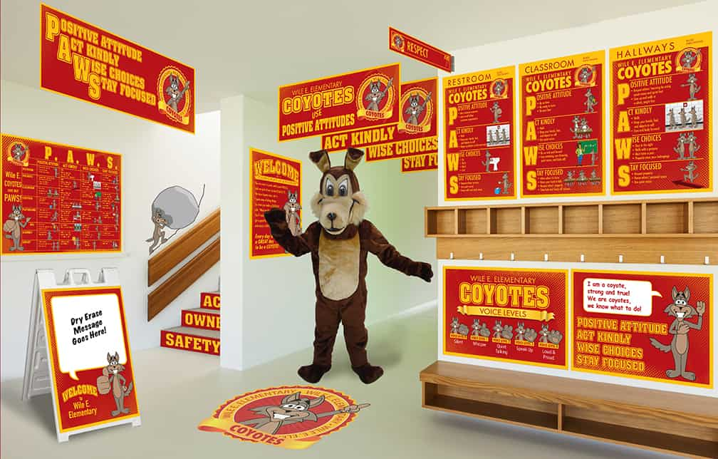 Coyote Mascot Products
