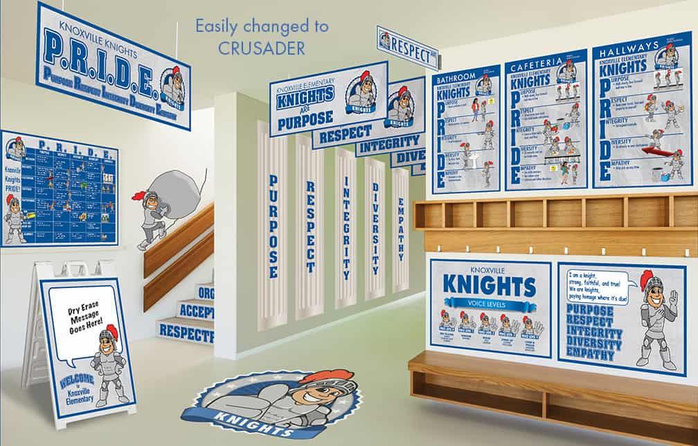 Crusader Mascot Products