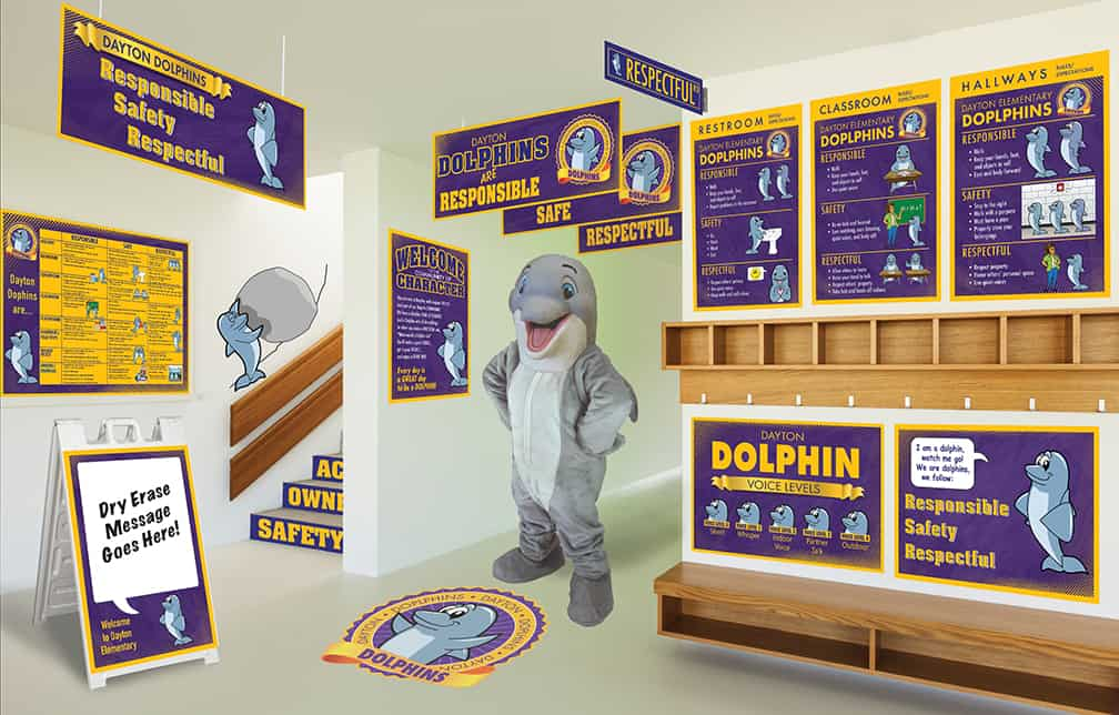 Dolphin Mascot Products