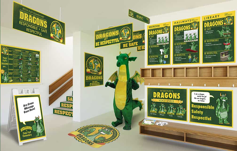 Dragon Mascot Products