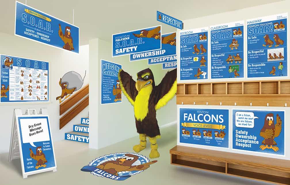 Falcon Mascot Products