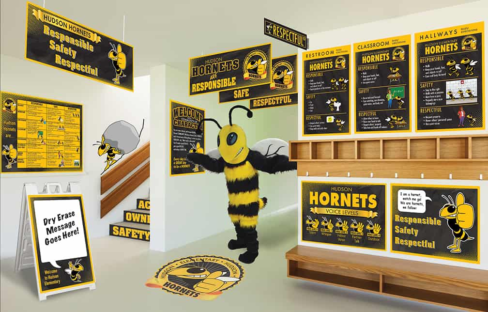 Hornet Mascot Products