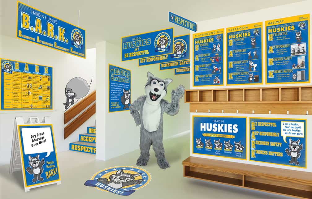 Husky Mascot Products