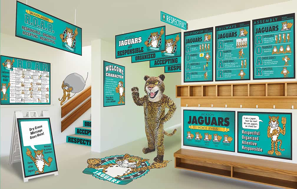 Jaguar Mascot Products