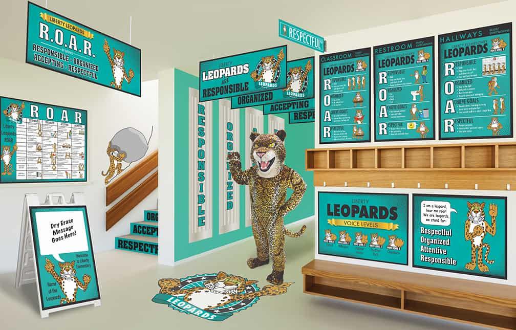 Leopard Mascot Products