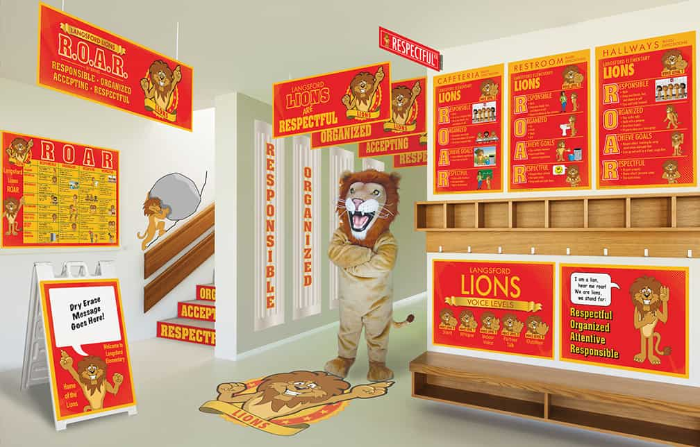 Lion Mascot Products