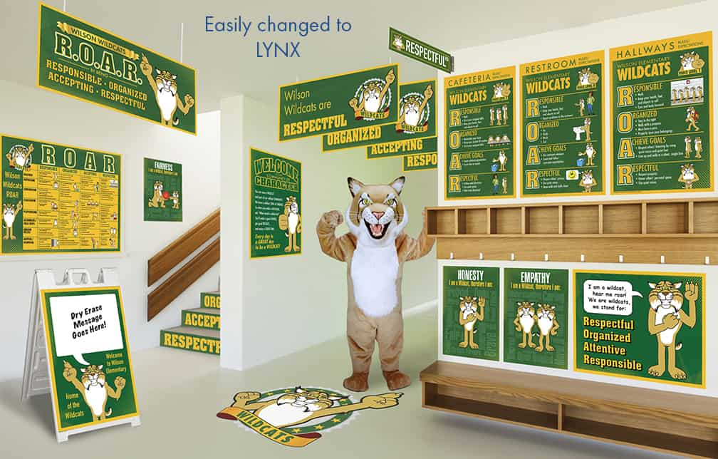 Lynx Mascot Products
