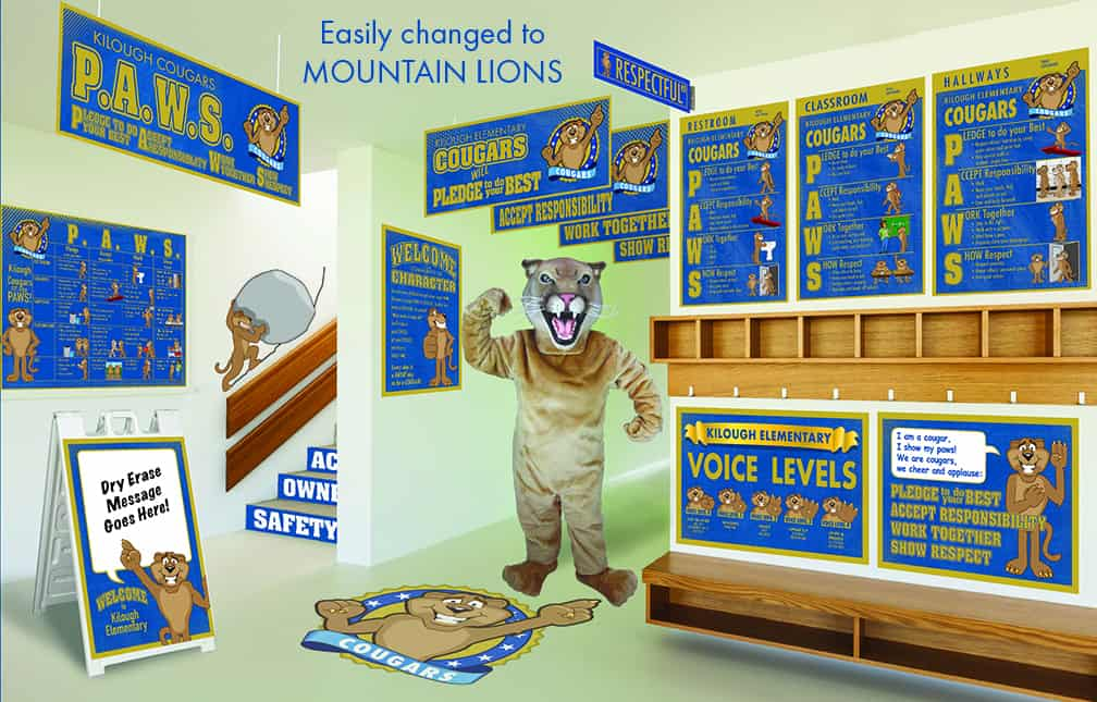 Mountain Lion Mascot Products