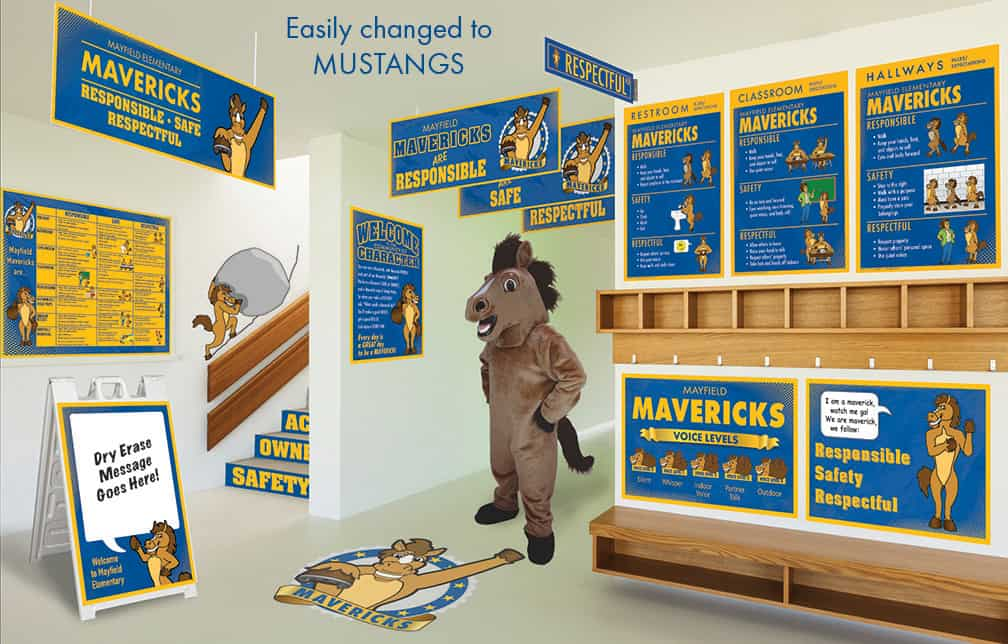 Mustang Mascot Products
