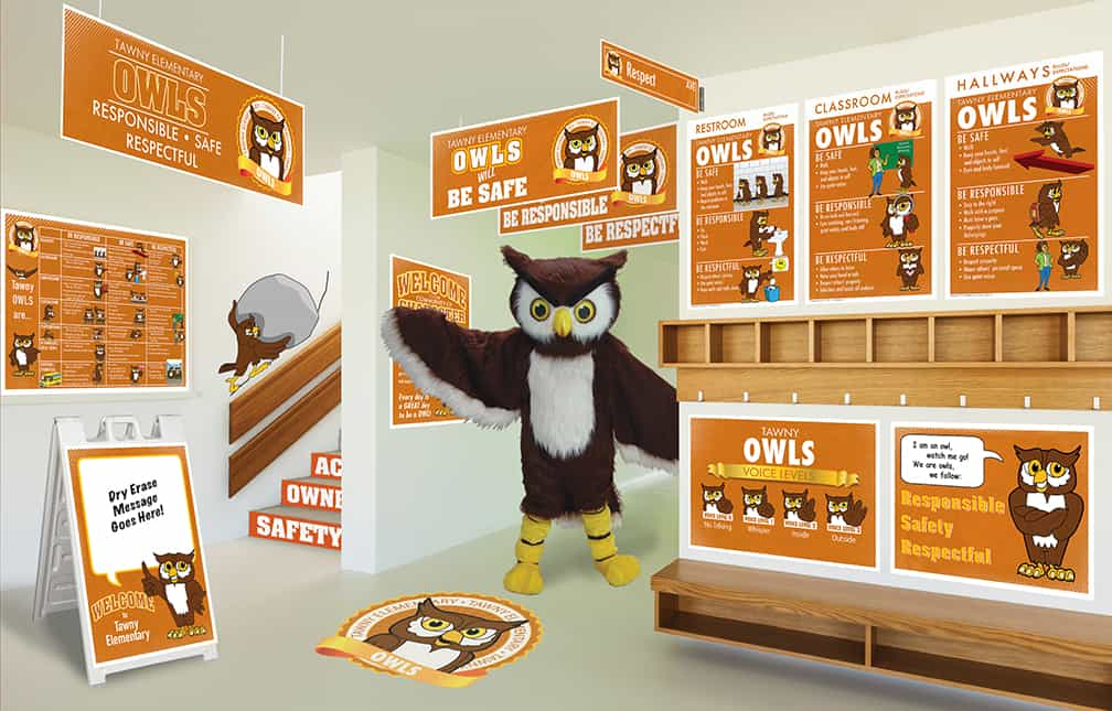 Owl Mascot Products
