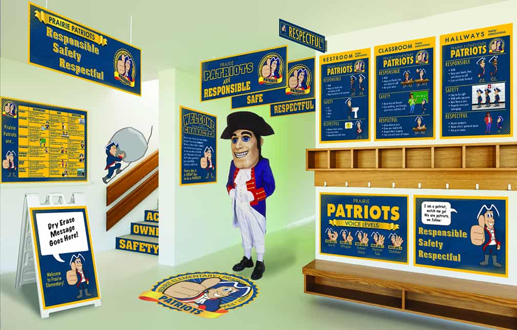 Patriot Mascot Products