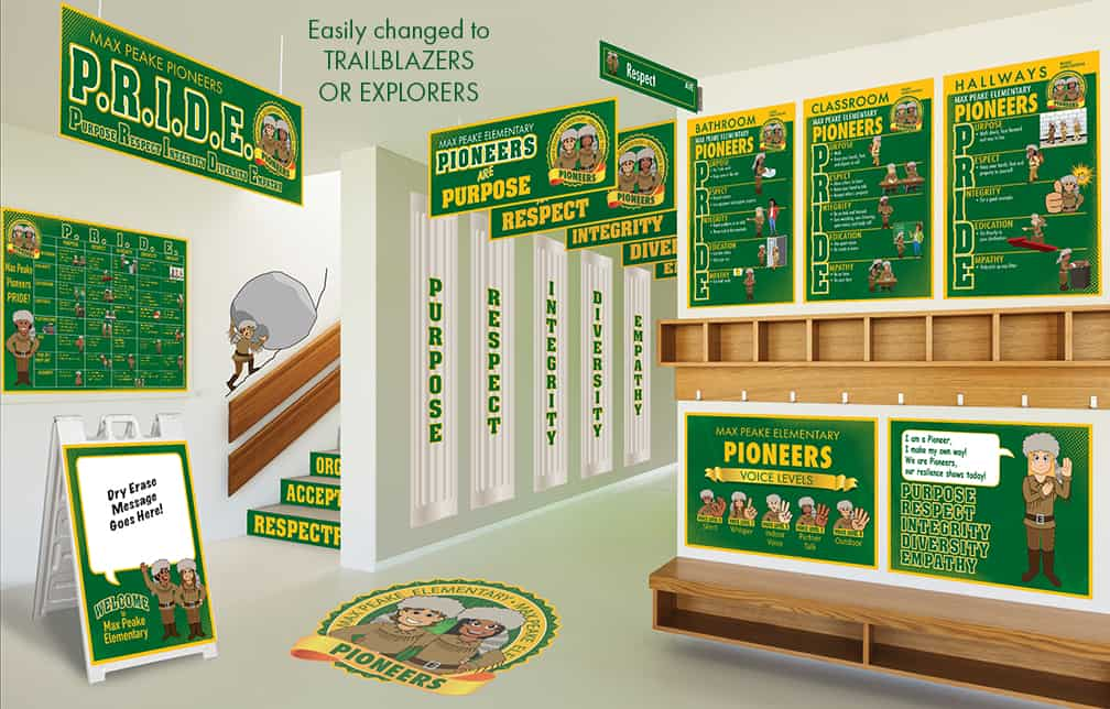 Pioneer Mascot Products