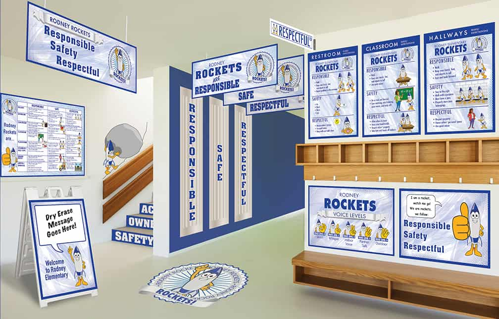 Rocket Mascot Products