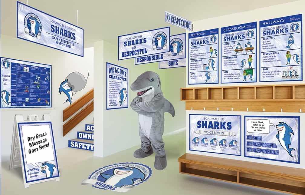 Shark Mascot Products