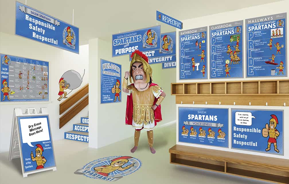 Spartan Mascot Products