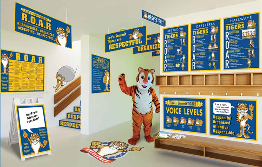 Tiger Mascot Products