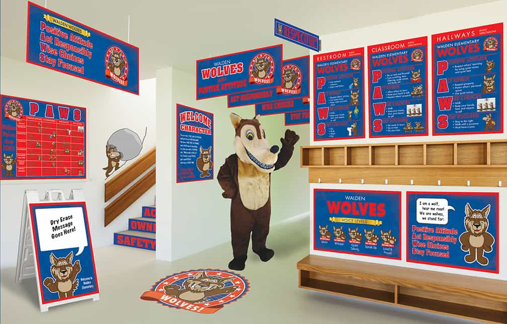 Wolf Mascot Products