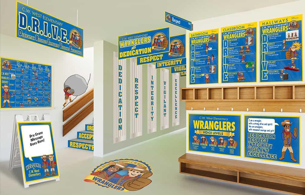 Wrangler Mascot Products