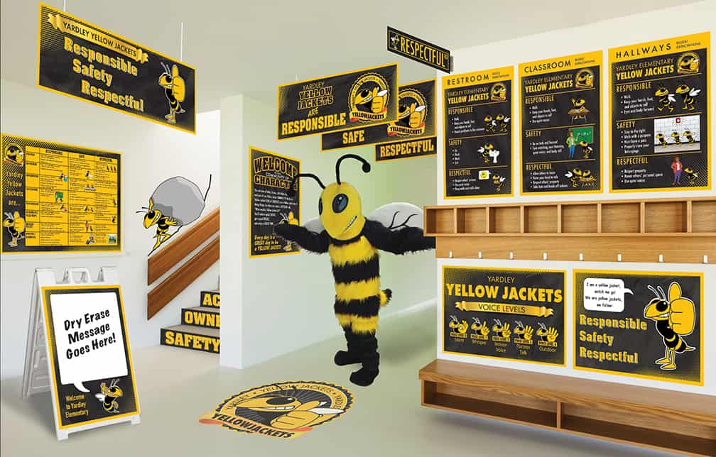 Yellowjacket Mascot Products