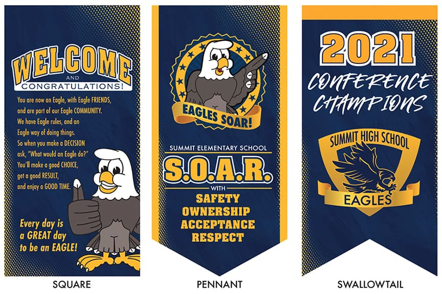 Champ Style Banners