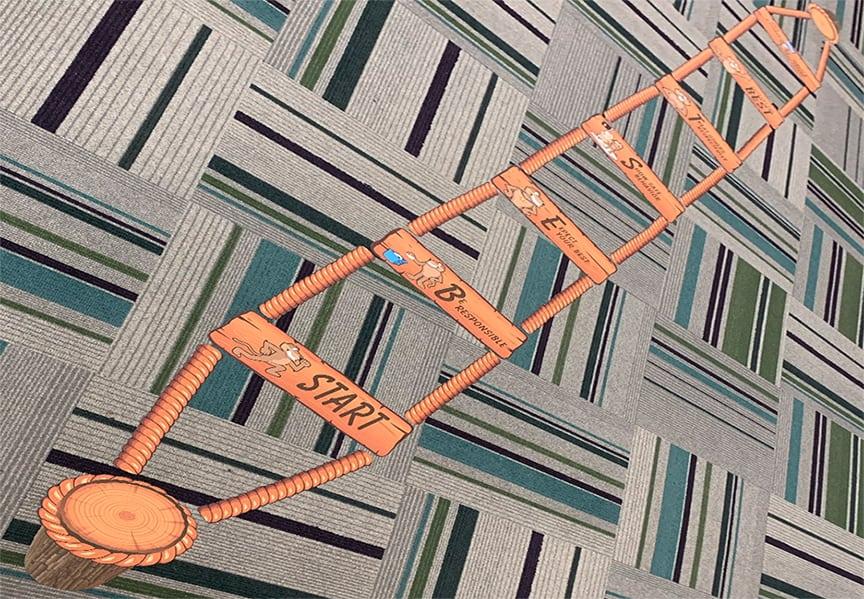 Rope Quest Carpet Stickers