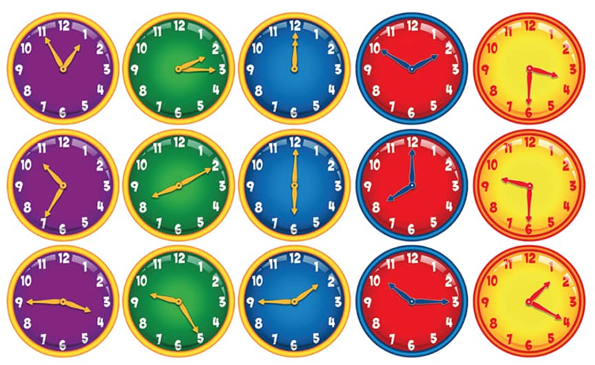 Time Teller Stickers