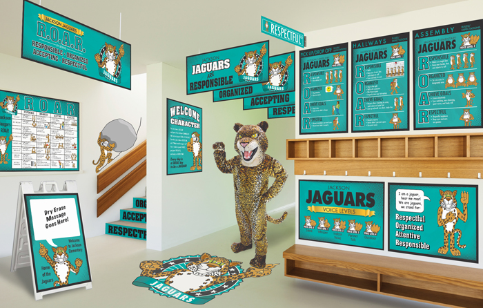 Jaguar Rules Posters PBIS