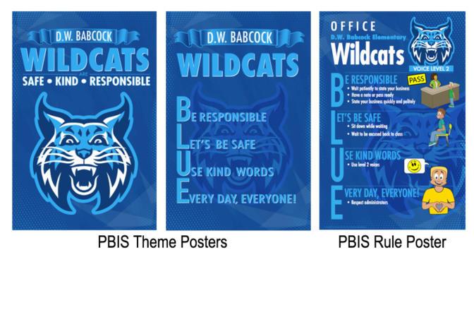 PBIS Theme Posters