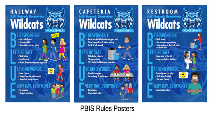 Rules Posters Expectations Behavior